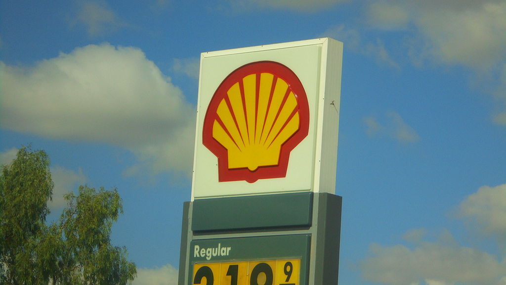 image of shell station for the arrow energy surat gas project