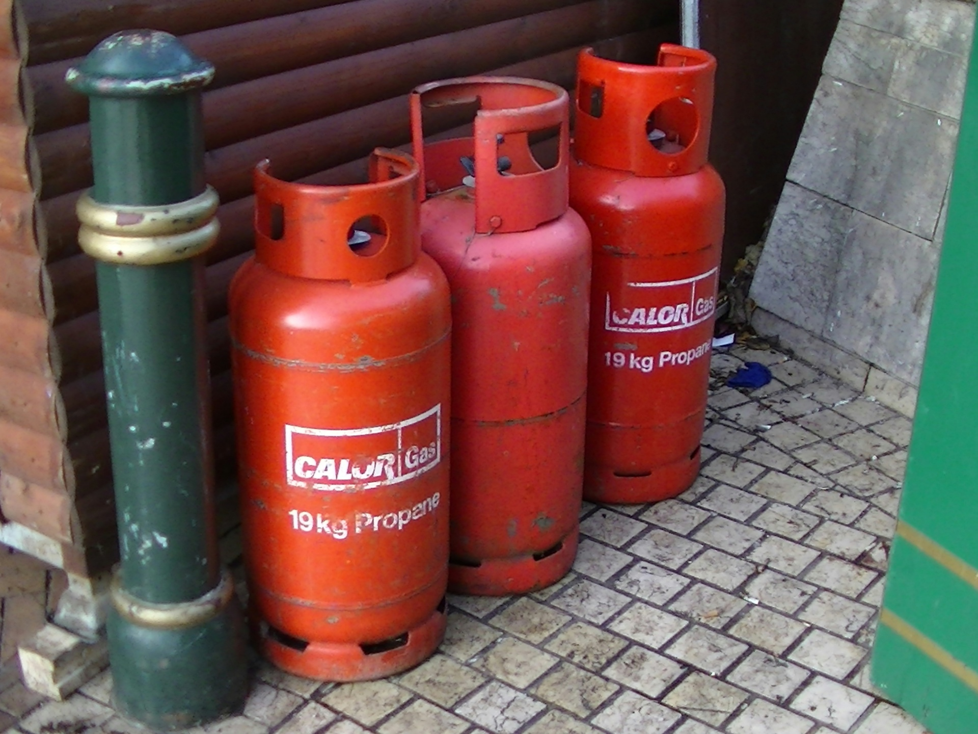 portable gas cylinders