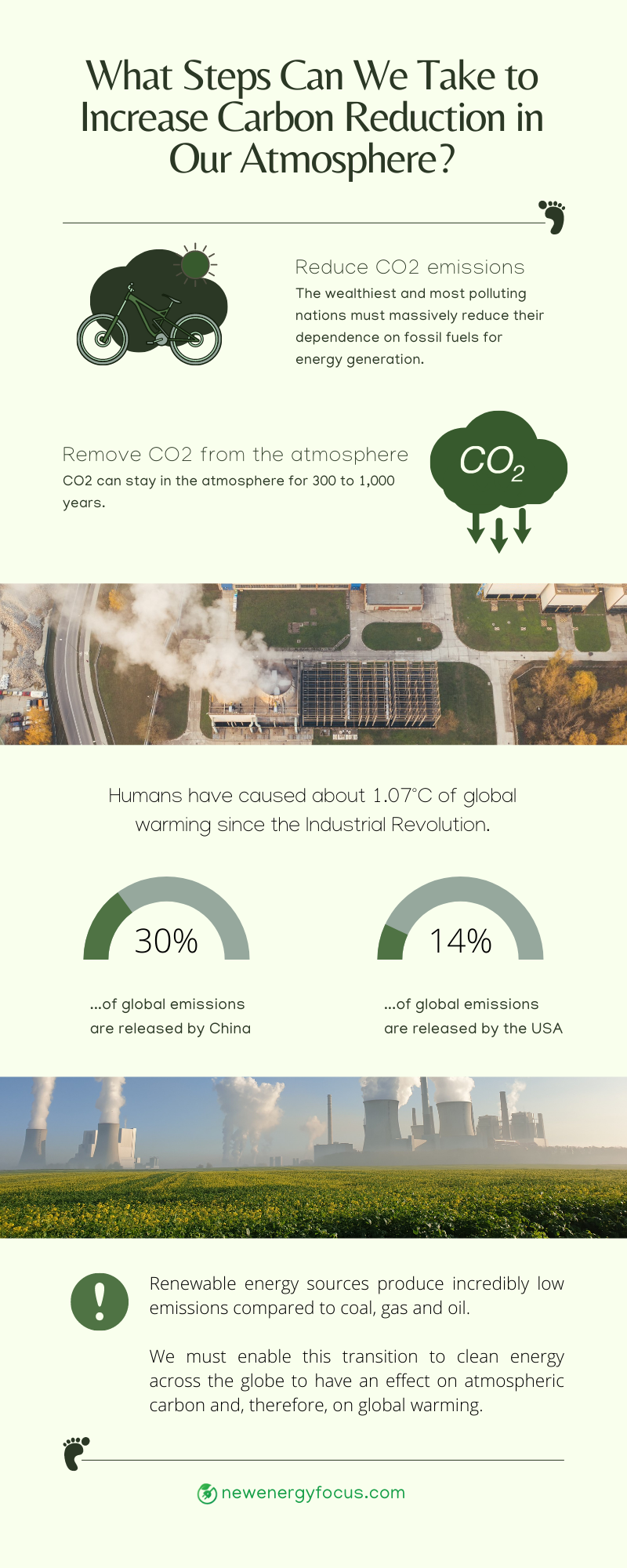 What Steps Can We Take to Increase Carbon Reduction in Our Atmosphere?